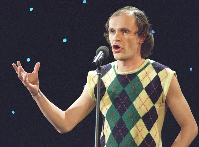 Comedian Olaf